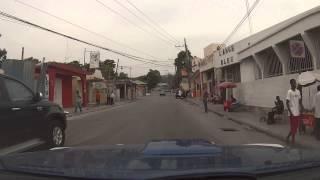 Port-au-Prince, Haiti - Rue Capois, Avenue Jean Paul II