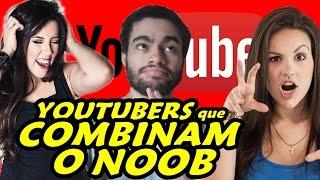 Quem é o Youtuber Que Mais Combina com o Noob? - Noob Quiz