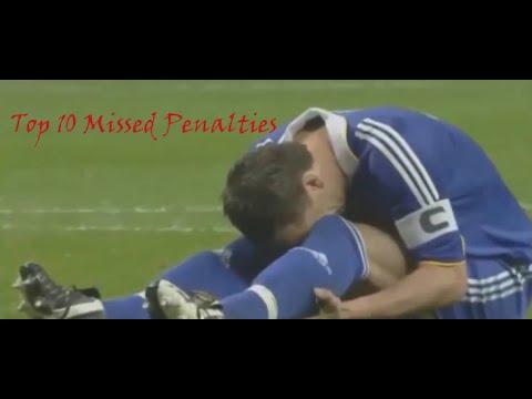Top 10 Missed Penalties Ever In Football History