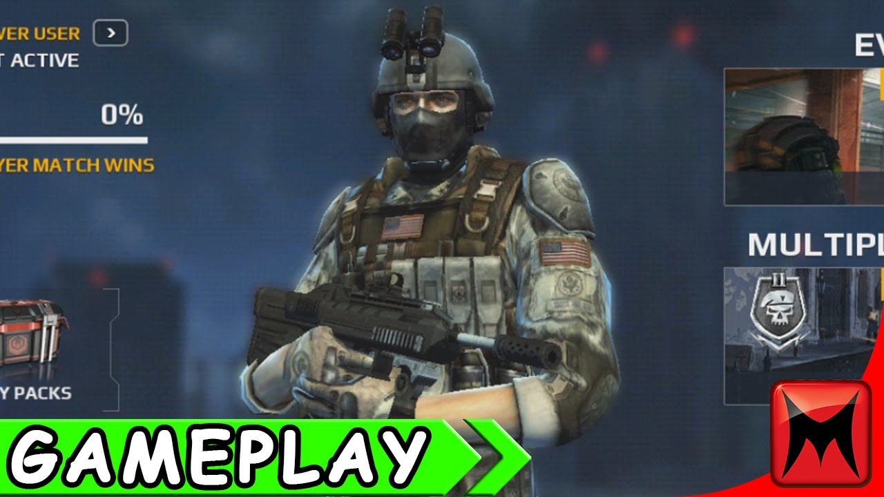 Modern Combat 5 Multiplayer - Gameplay Comentada