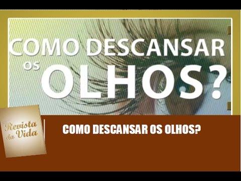 83fca3436 Como descansar os olhos? - Revista da Vida 16/04/17 - YouTube