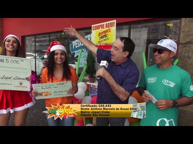 Antonio Silva, de São Vicente, levou 5 Mil Reais!