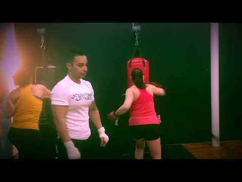 Boxing Class in action
