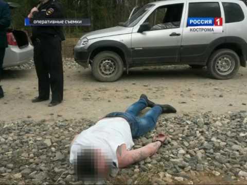 В Костромской области задержали мужчин, совершивших вооружённое нападение на инкассаторов