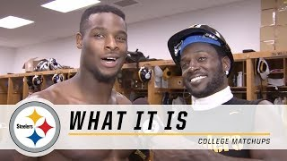 Steelers Antonio Brown stirs the pot in college football rivalries | What It Is