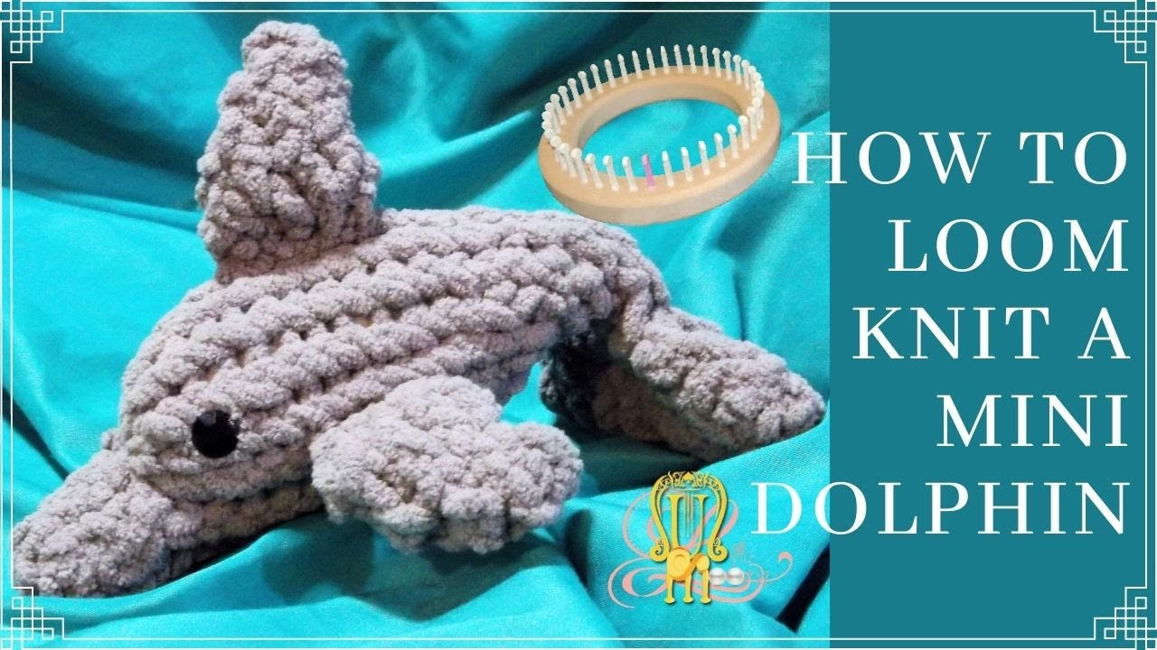 How to loom knit a dolphin youtube dt1010fo