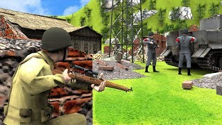 American vs German Sniper- The war Game Android Gameplay
