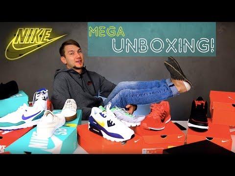 Nike! Анбоксинг 15 пар. Какие выбрать: Nike Air Max, Jordan или Сortez?