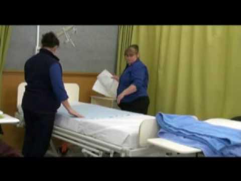 steps of bed making in nursing 2