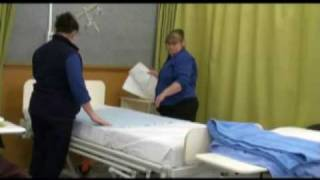 Making An Unoccupied Bed