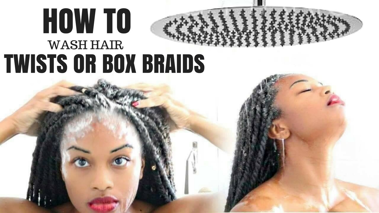 How To Wash Senegalese Twists Marley Twists Without Frizz Youtube