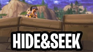 VERSTOPPERTJE SPELEN MINI-GAME!  - Fortnite: Battle Royale Custom Game (Nederlands)