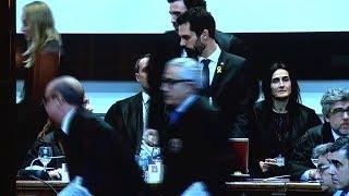 """Torrent denuncia """"presos políticos"""" en Catalunya frente al ministro Rafael Catalá"""