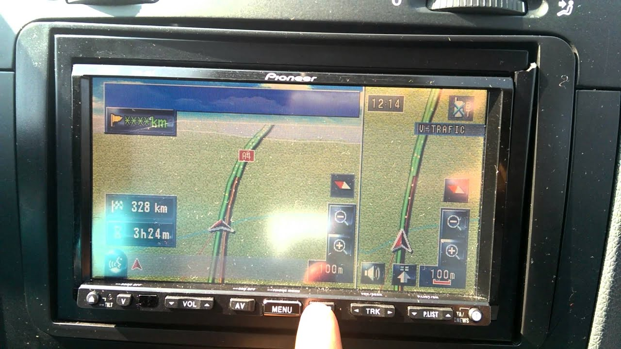 Pioneer Avic HD3 after Hdd Update 2