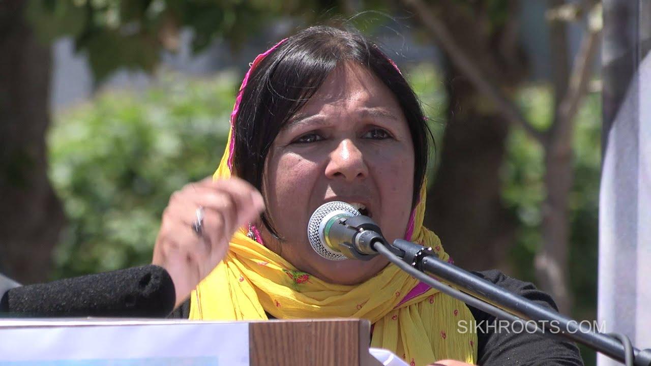 Prof. Indira Prahst - March for Freedom - San Francisco 2015