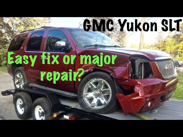 2013 GMC Yukon SLT rebuild project part 1 of The Yuckon
