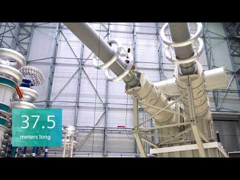 Siemens presents: The first 1,100 kV HVDC Transformer (short version)