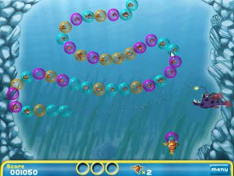 Let's Play Bubblefish Bob - Entertaining Video Games For Kids