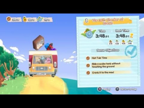 [Moving Out - Movers in paradise DLC] Platinum medal #10 - The 36th Chamber of Cranks (Solo) |