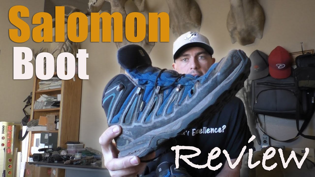 250bb80a2844 Salomon X Ultra Mid 2 GTX Boot Review - YouTube