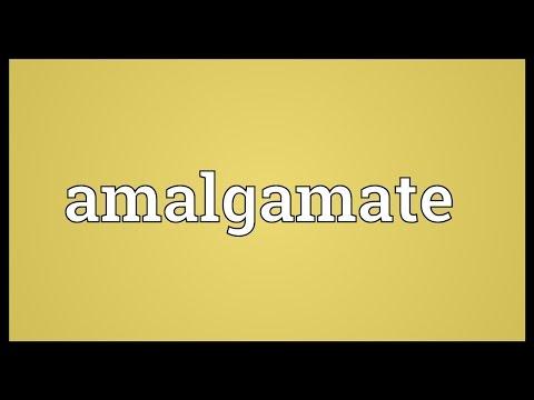 Amalgamate Meaning