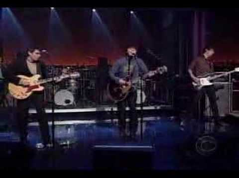 Trail Of Dead - The Rest Will Follow (David Letterman Show)