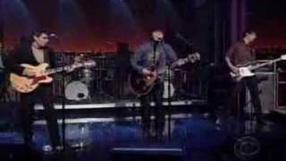 Trail Of Dead - The Rest Will Follow (David Letterman Show)