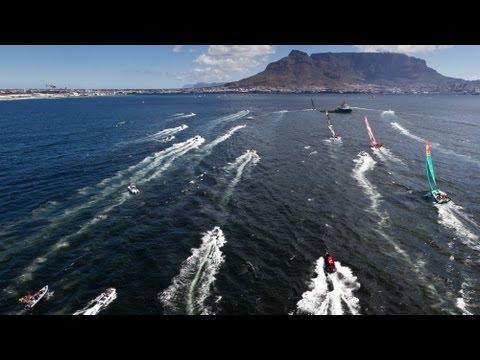Leg 2: Cape Town Live Leg Start Replay | Volvo Ocean Race 2011-12
