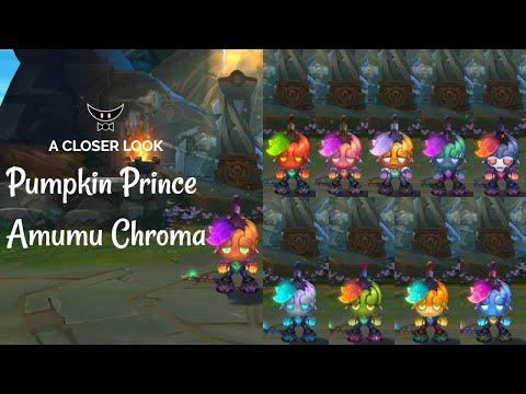 Pumpkin Prince Amumu Chromas
