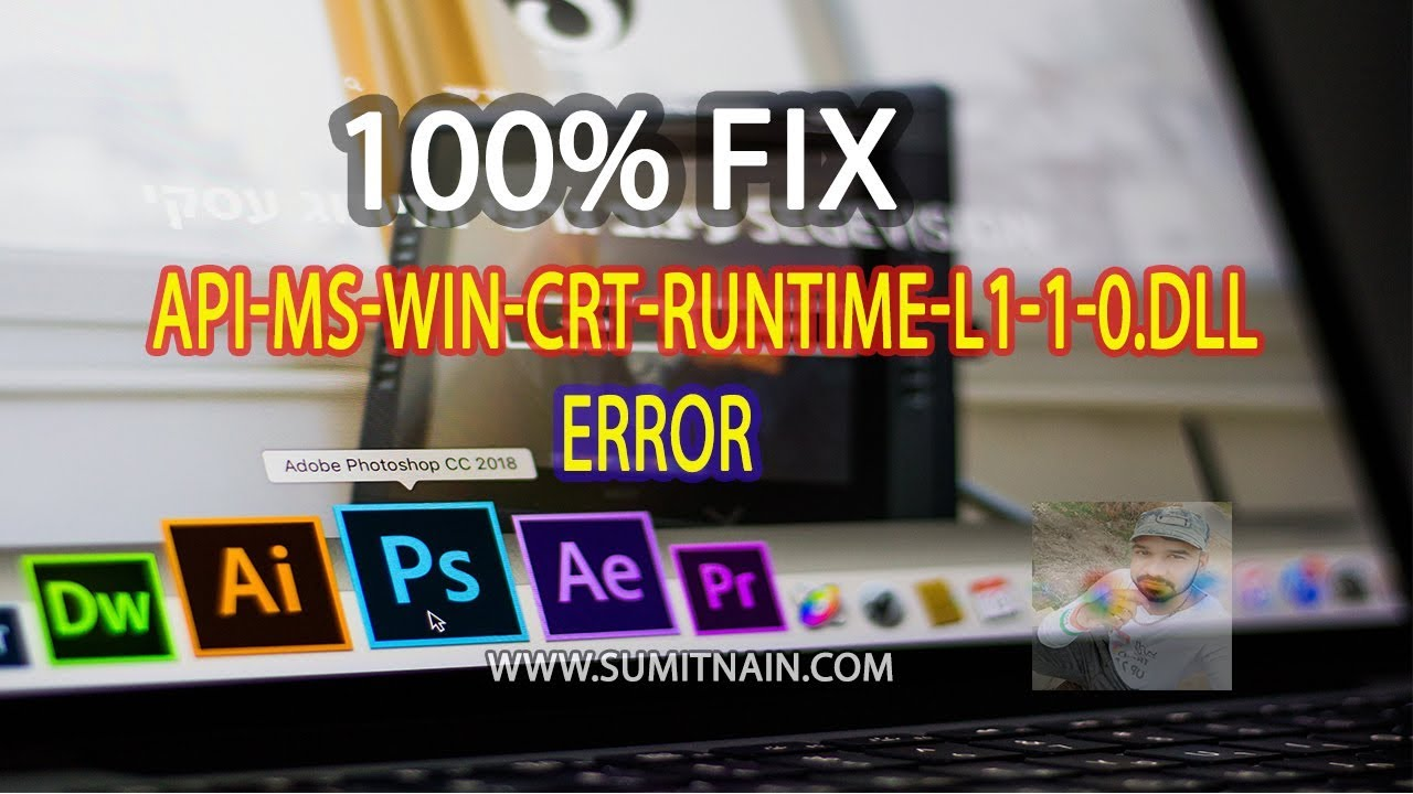 Fix api-ms-win-crt-runtime-l1-1-0 dll is missing Windows error in Hindi/Urdu