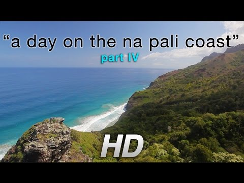 """[HD] Part 4: Kauai's Kalalau Trail Nature Relaxation: """"A Day on Na Pali Coast"""""""