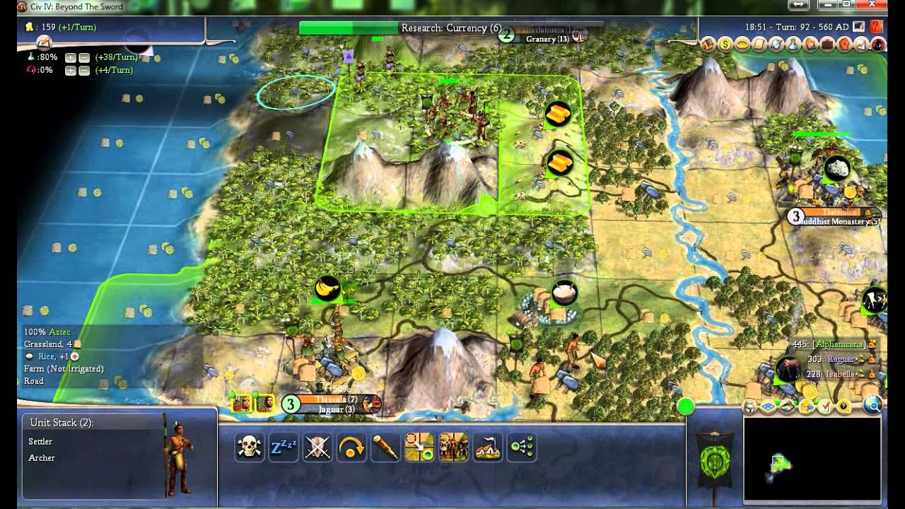 Civilization 4 final frontier plus beginners guide walkthrough set.