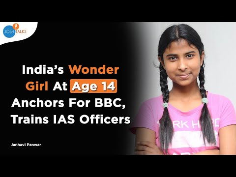 How I Overcame Challenges To Become India's Wonder Girl | Janhavi Panwar | Josh Talks