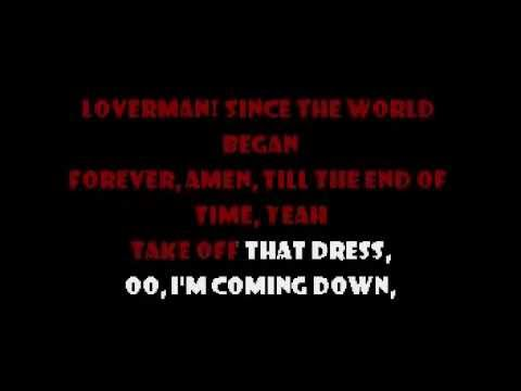 Loverman - Metallica Karaoke
