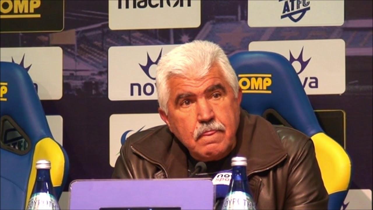 Γ  Παράσχος - Προπονητής Αστέρα Τρίπολης