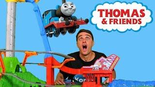 Thomas & Friends Sky High Bridge Jump !  || Toy Review || Konas2002