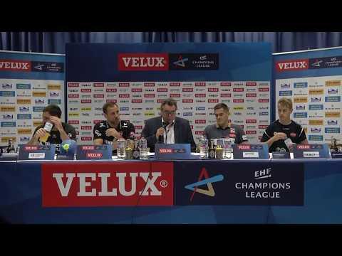 CL Pressekonferenz  SG - Aalborg (in englisch)