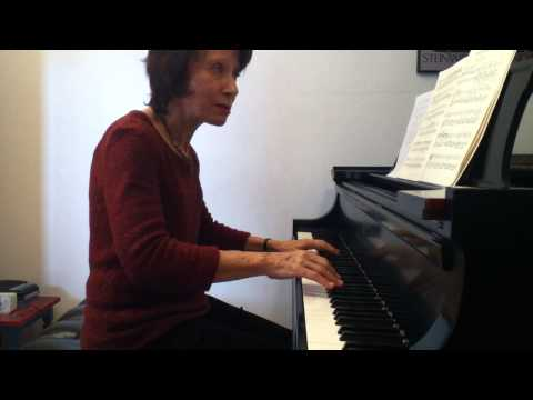 Edna Golandsky discusses playing in slow tempi: Chopin C# minor nocturne Part 2