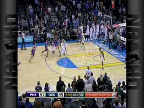 NBA Pretemporada 12/10/2009 - Phoenix Suns 105 Vs Oklahoma City Thunder 110