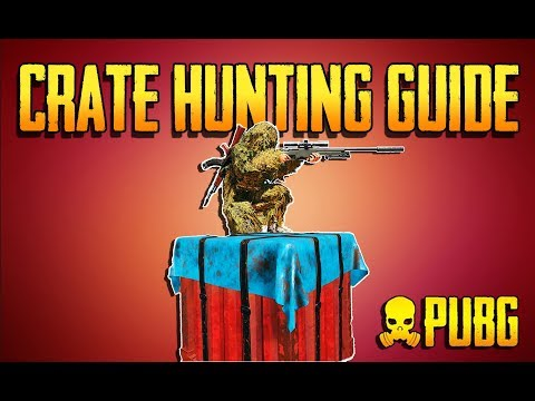 PLAYERUNKNOWNS BATTLEGROUNDS CRATE HUNTING GUIDE! Training Grounds Episode 12! PUBG LIVE!