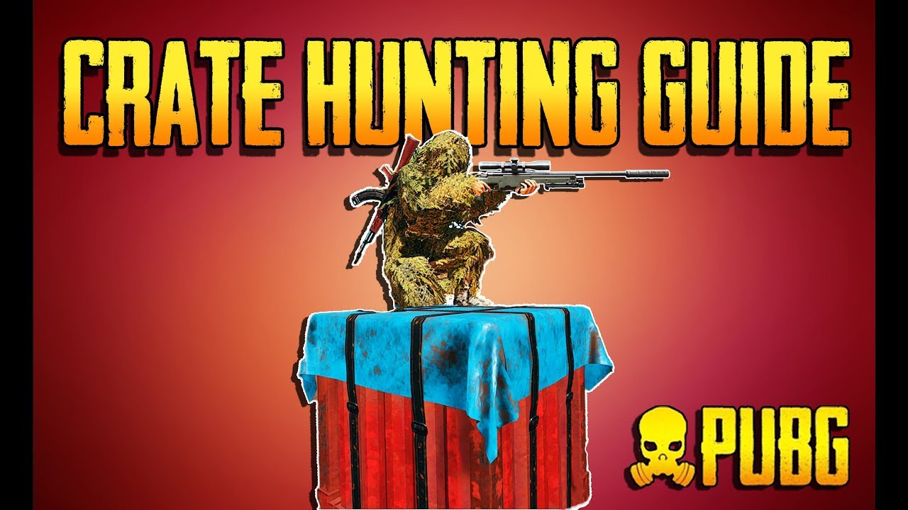Playerunknown S Battlegrounds Maps Loot Maps Pictures: PLAYERUNKNOWNS BATTLEGROUNDS CRATE HUNTING GUIDE! Training