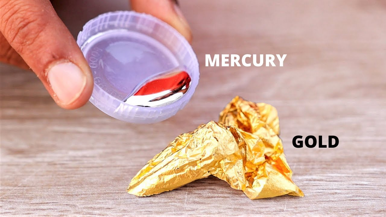 24 Carat Gold VS Mercury | सोने और पारे को गलती से भी कभी साथ मत रखना | Paisa Barbaad