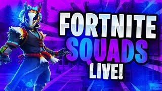 FORTNITE WITH SUBS! COME JOIN! | V-BUCKS GIVEAWAY @5K SUBS! | NEW FORTNITE AVENGERS SKINS COMING!