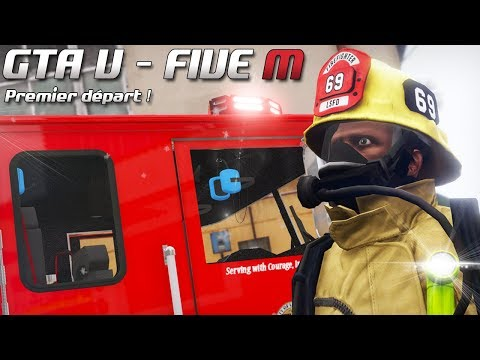 GTA 5 - Law Enforcement Live - Premier départ ! (Five M)