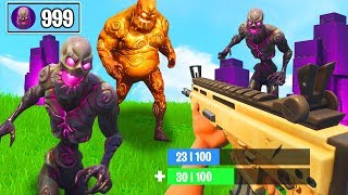 This happens when you ALL ZOMBIES KILLST in FORTNITE!