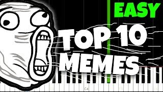 Top 10 Meme Songs... And How To Play Them! thumbnail