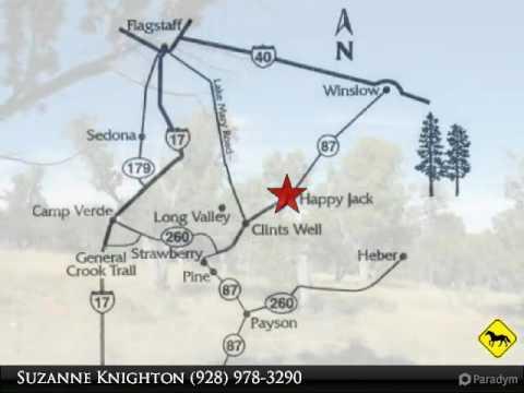 Happy Jack Arizona Map.Happy Jack Arizona 5 Acres Lot 170 Pinehurst Drive Youtube