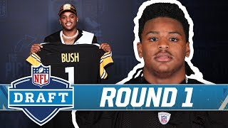 Pittsburgh Steelers trade up to take Devin Bush at No. 10 | NFL Draft