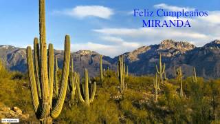 Miranda  Nature & Naturaleza - Happy Birthday