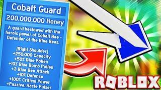 Helping My Girlfriend Get The Cobalt Guard In Roblox Bee Swarm Simulator